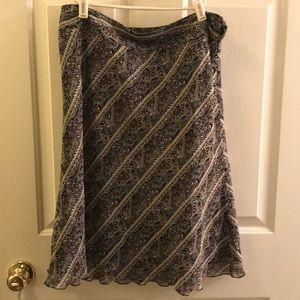Ladies Ann Taylor A line skirt